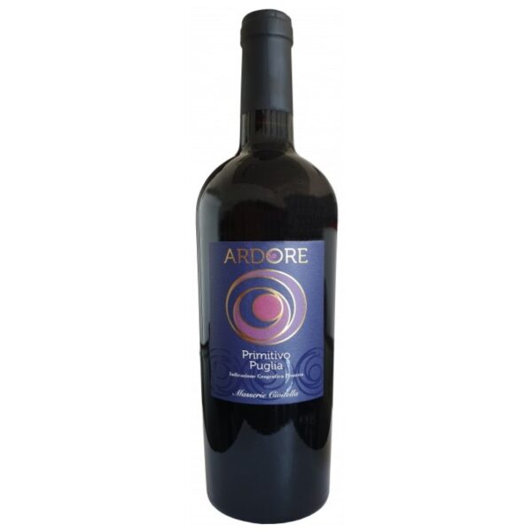 Primitivo di Puglia Ardore Vino Rosso IGP Masserie Givitella