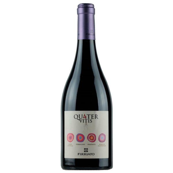 Quater Vitis Firriato Terre Siciliane Vino Rosso IGT